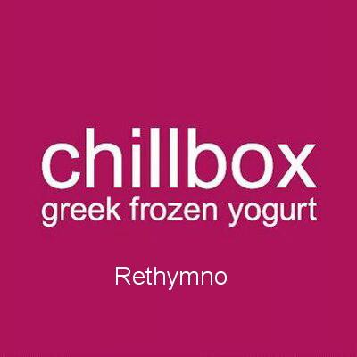 Chillbox Rethymno Crete frozen yogurt